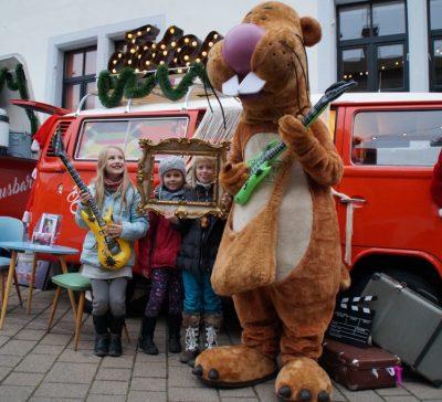 Nils Nager zu Besuch beim Fotobus Eventsnapper auf Nils Nager