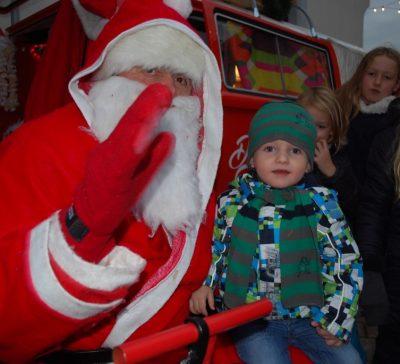 Der Nikolaus zu Besuch beim Fotobus in Ellerstadt Eventsnapper auf Fotobus in Ellerstadt