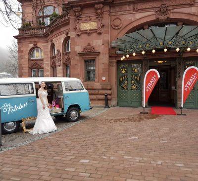 Der Fotobus in Heidelberg auf der Hochzeitsmesse TRAU 2018 Eventsnapper auf der fotobus in heidelberg auf der hochzeitsmesse trau 2018