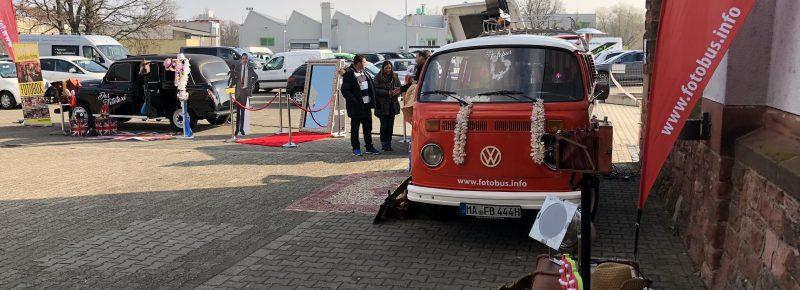 Fotobus Busbar Fototaxo Fotobox magicmirror Eventsnapper auf hochzeitsmesseworms
