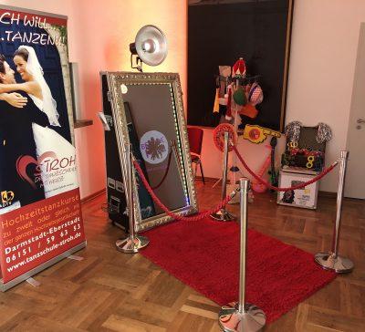 Galaball der Tanzschule Stroh mit dem Magic Mirror Eventsnapper auf galaball der tanzschule stroh