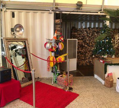 Kleine Weihnachtsfeier der Firma SP-Service Plattform GmbH Eventsnapper auf