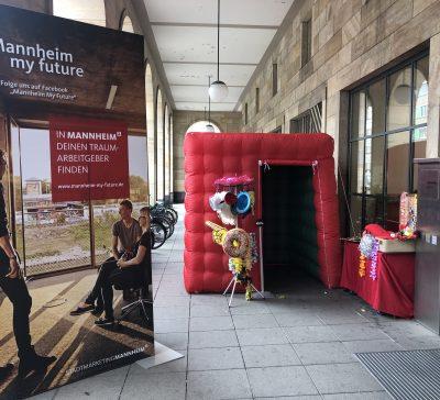 Startklar Mannheim – Unsere Cube Fotobox mit am Start! Eventsnapper auf