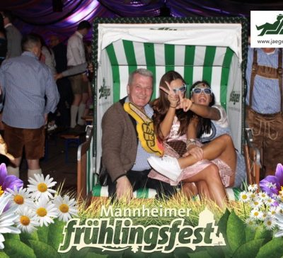Eventsnapper auf dem Mannheimer Frühlingsfest Eventsnapper auf