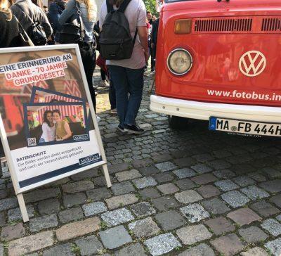 70 Jahre Grundgesetz Fest für den Mannheimer Morgen an der Friedrich-List-Schule Mannheim Eventsnapper auf [object object]