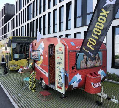 Photocamper Mit Der STRABAG AG Auf Dem Mitarbeiterevent Teamworks In Köln Eventsnapper auf
