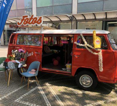 Unser Fotobus unterwegs auf dem Kinderfest des Stadtfests Mannheim Eventsnapper auf